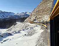 Aurora Winter Train Alaska Railroad