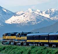 Coastal Classic Train Seward Train