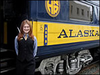 Alaska Railroad Denali Star Train