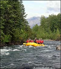 East Fork River Alaska Class III whitewater