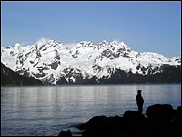Resurrection Bay, Caines Head North Beach Seward, Alaska