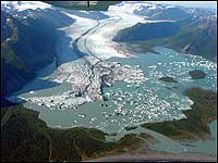 Bear Glacier Aerial 2002 Backcountry Safaris
