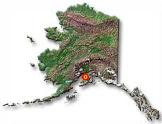 Resurrection Bay Alaska Map.Seward Alaska Population Location Climate History Culture