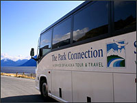 Alaska Tour And Travel Park Connection Bus