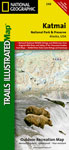 Katmai National Park Trails Illustrated Map